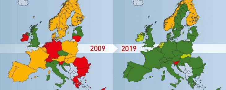 Eu maiden pelilisenssit -2009-2019