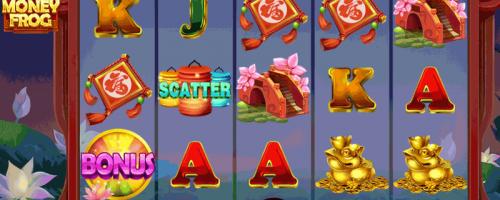 Gold Money Frog hedelmäpeli uutuus